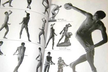 いいの?(汗) 古代芸術男性裸像を人体で再現!チンポ丸出し全裸ポーズ集