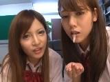 みづなれい桐谷ユリア可愛い姉妹のWフェラ