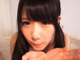 愛須心亜 ツインテールのカワイいらしい女子のフェラチオ