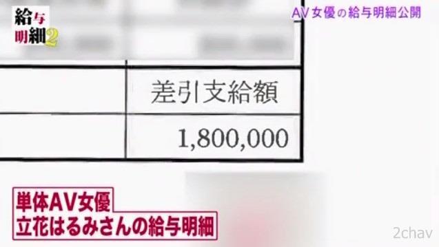 立花はるみ給料明細引退009