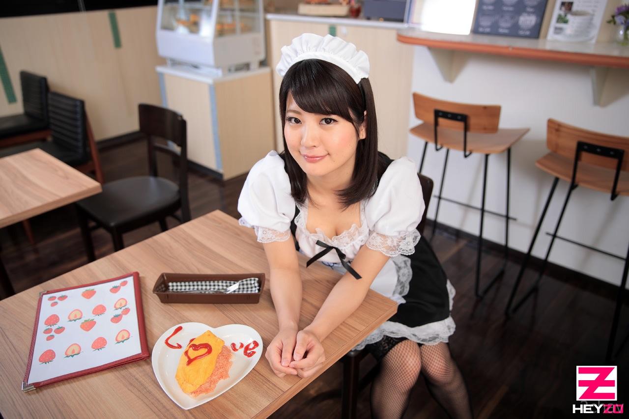 究極ご奉仕のメイドカフェ水谷あおい002
