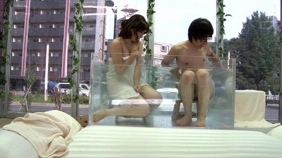 【エロ動画】マジックミラー号で友達同士で混浴→ムラムラ→セックス・・・・・まあそうなるよねwwwwwwwww【MM号】01_20151224160712f0a.png