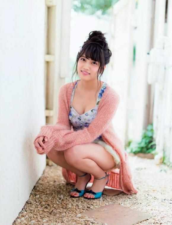 フジテレビ系ドラマ「サイレーン」で好演しているAKB48入山杏奈ちゃんの下着姿アリのグラビア画像20枚【高画質】04_20151209015259c2d.jpg
