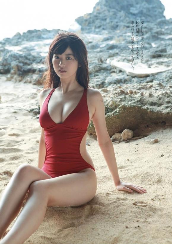 モデルもグラビアも活躍中!モグラ美女「馬場ふみか」ちゃんのセクシーグラビア画像09_20160805113726da5.jpg