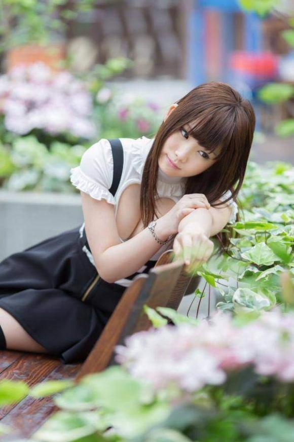 人気美女&巨乳コスプレイヤー「えなこ」ちゃんがLINE BLOGに過激に登場!【画像30枚】12_201605192137464b0.jpg