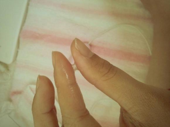 【指マン汁】女の子がオナニー直後に撮った糸引き自撮り写メが想像以上にくっそエロいwwwwwww【画像30枚】13_20160619234738872.jpg
