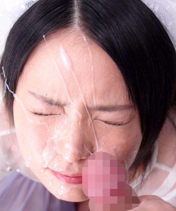 【エロ画像】顔射は男の願望ではあるけれどやられた女としてはちょ・・・勘弁してよ・・・・・wwwww14_201511240859507da.jpg