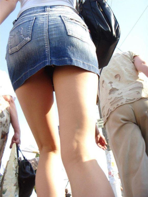【驚愕】デニムスカート女子のパンチラ率が判明wwwwwwwwwwwwwwwww【画像30枚】23_20160604095811272.jpg