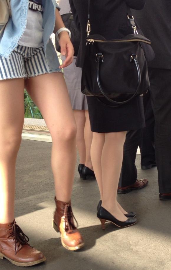 ショーパンから露出してる大腿部がエロすぎwww女の子のムニムニ太ももがたまらんwwwwwww【画像30枚】24_20160217093745463.jpg