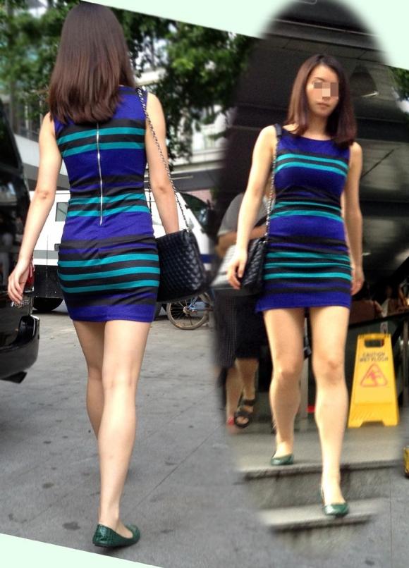 洋服の中では一番のエロさを誇るミニワンピを着てる女の子を街撮り盗撮ぅぅぅぅぅwwwww【画像30枚】27_201512200318102f2.jpg