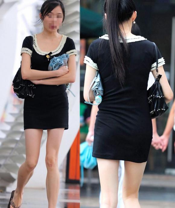 洋服の中では一番のエロさを誇るミニワンピを着てる女の子を街撮り盗撮ぅぅぅぅぅwwwww【画像30枚】28_20151220031811652.jpg