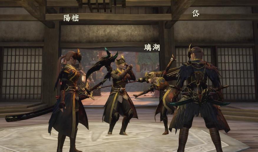 特務隊ごっこ(踊る)