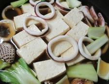 イカと豆腐の柚子こしょう煮 調理④