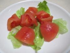 山かけトマト 調理③