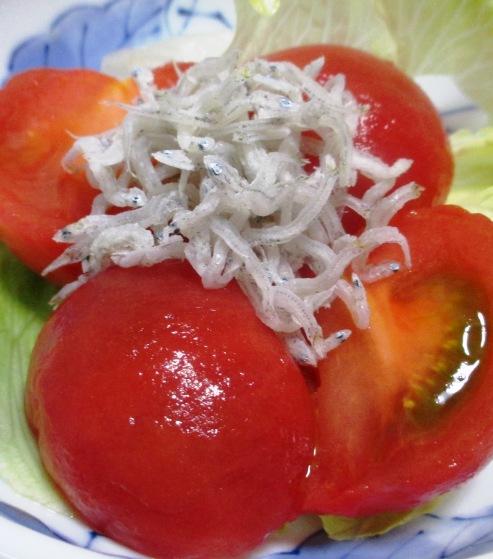じゃこトマトサラダ 大