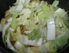 白菜の煮物 調理①