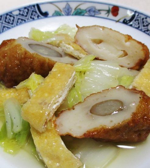 白菜の煮物 B