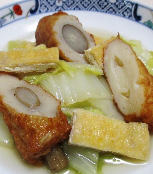 白菜の煮物 大