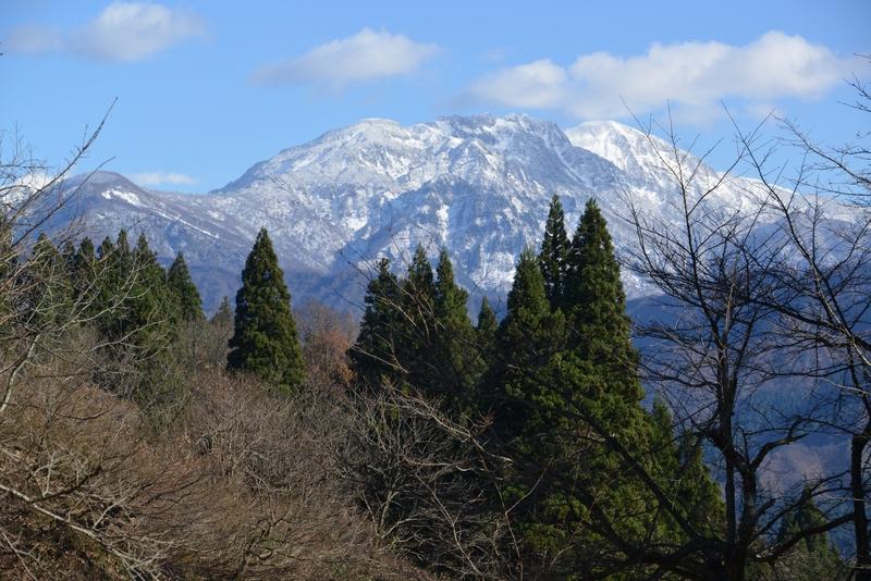 初冬の八海山-1