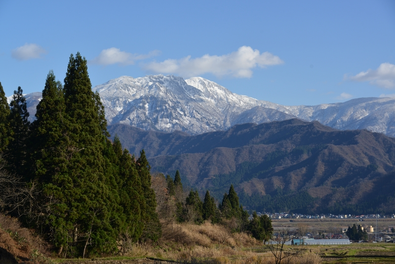 初冬の八海山-2