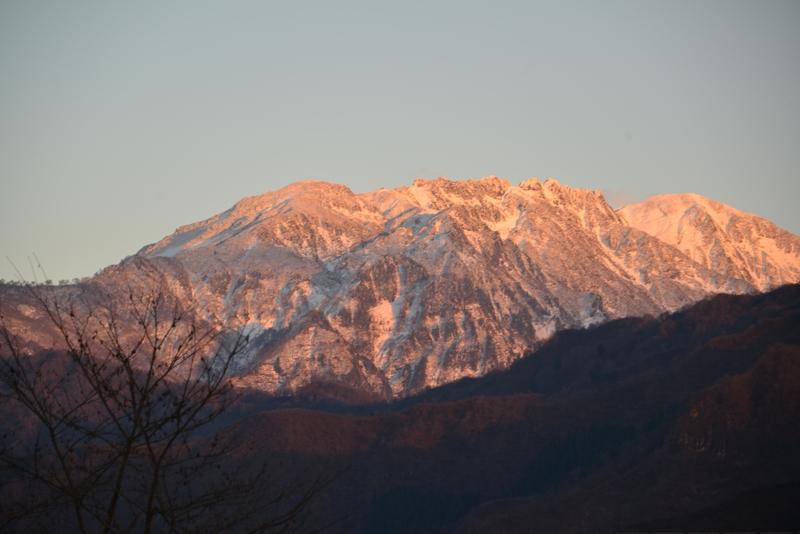 初冬の八海山-3
