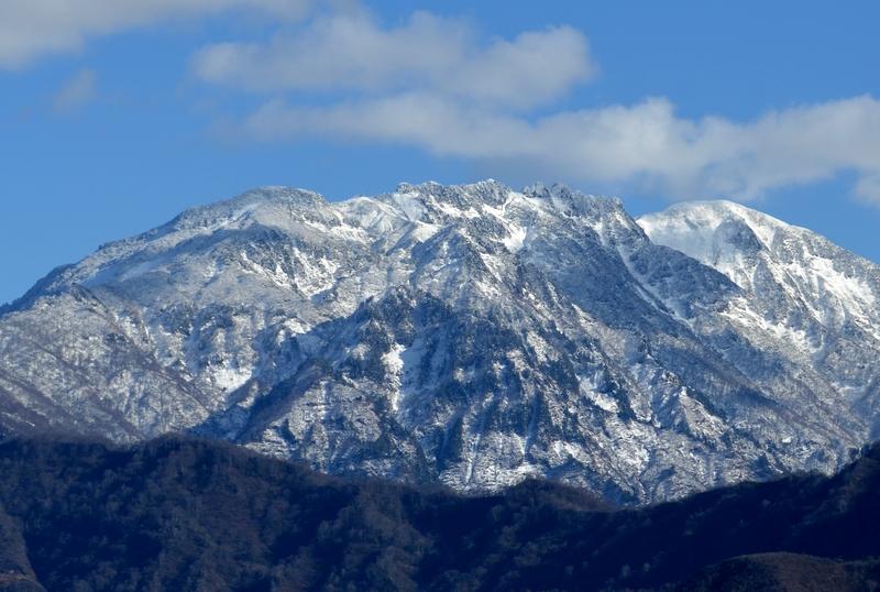 初冬の八海山-4