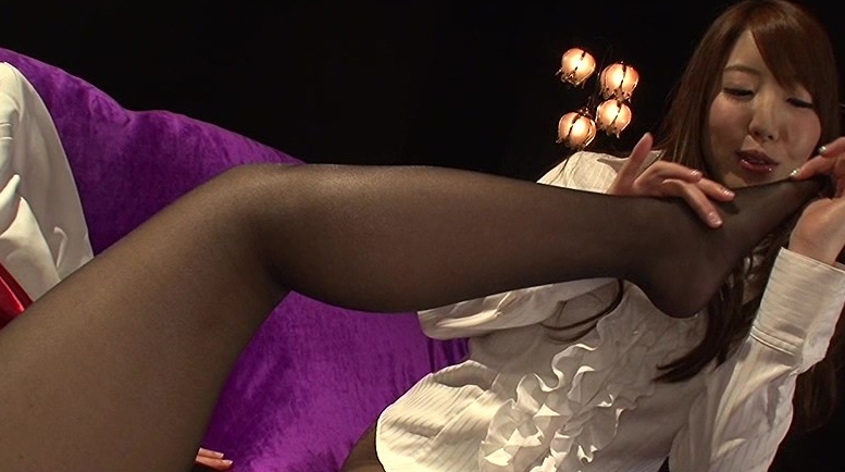 漆黒のパンストレズビアン vol.2の脚フェチDVD画像2