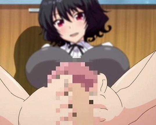 爆乳美少女JKが最高にエロい足指テクで抜く足コキアニメの脚フェチDVD画像1