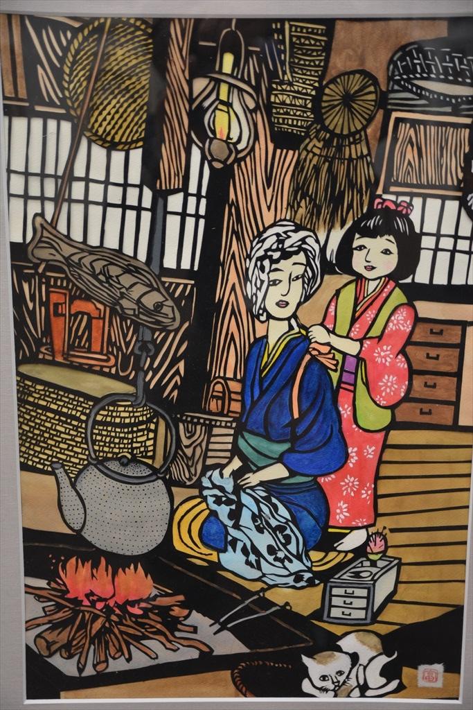 日本きりえ展作品_12