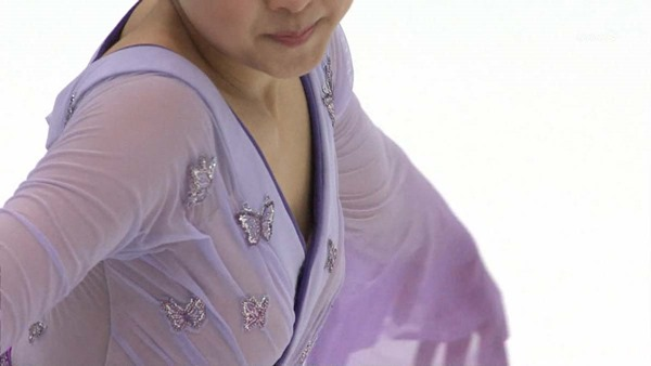 浅田真央の乳首見え画像10
