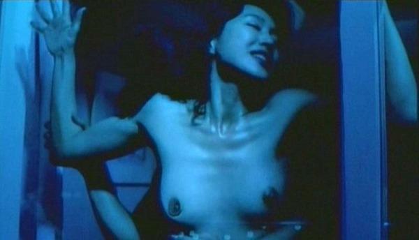 高島礼子の濡れ場ハミ乳首おっぱいヌード画像10