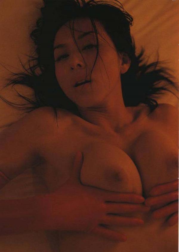 杉本彩のヘアヌード巨乳おっぱい画像12