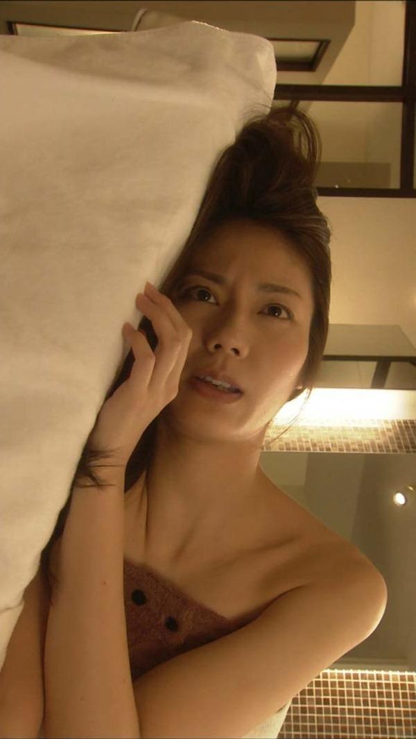 松下奈緒の全裸入浴ヌード画像13
