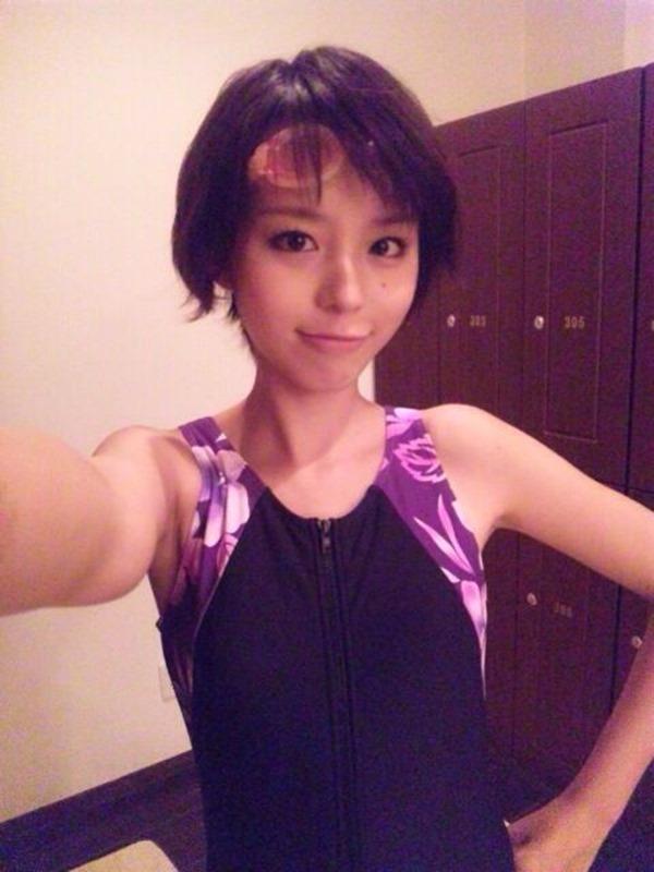 芸能人・アイドルのスク水エロ画像14