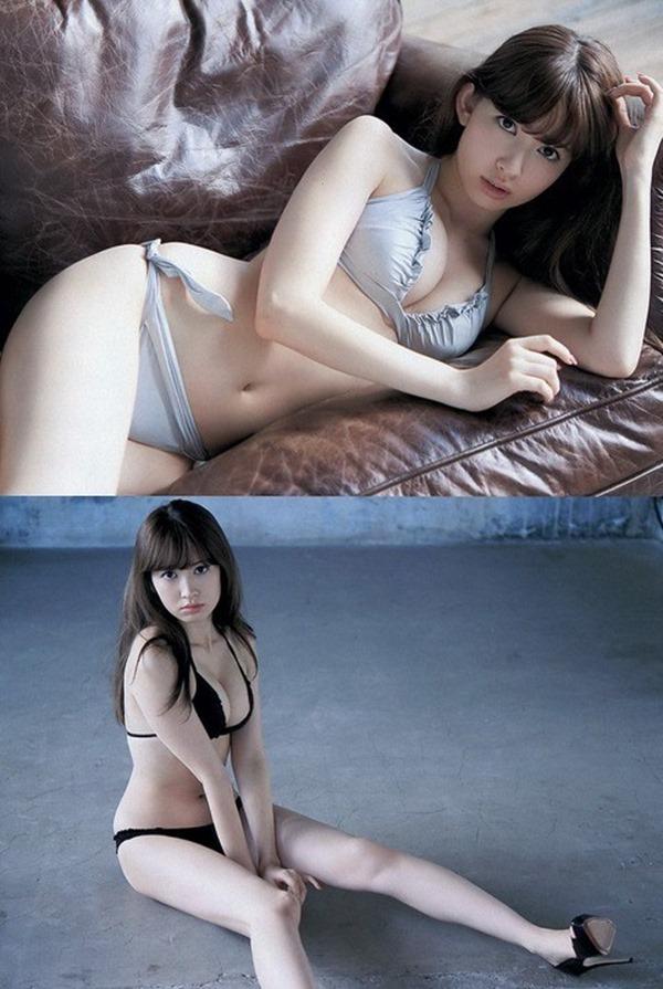 小嶋陽菜手ブラ・ヌード画像17