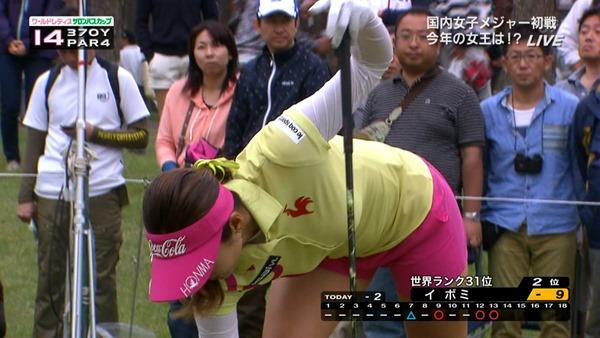 女子ゴルファー韓国イ・ボミ選手17