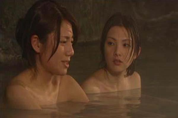 松下奈緒の全裸入浴ヌード画像1
