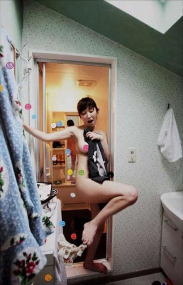 小野真弓の風呂上りヌード画像3