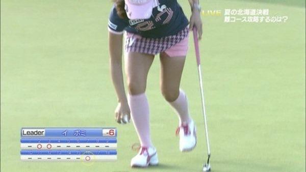 女子ゴルファー韓国イ・ボミ選手6