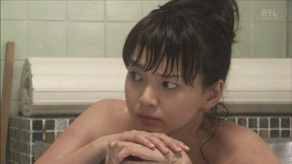 多部未華子の入浴シーンお色気エロキャプ画像6