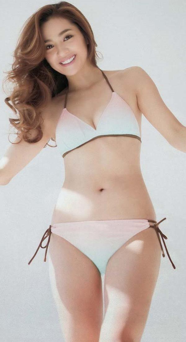 中村アンのセクシー巨乳グラビア水着画像7