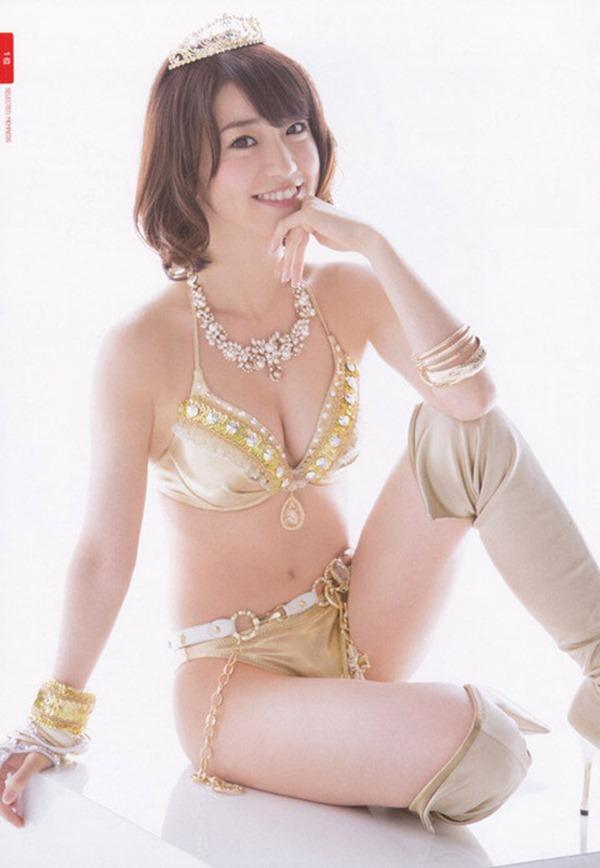大島優子のむっちむちなエロボディ画像7