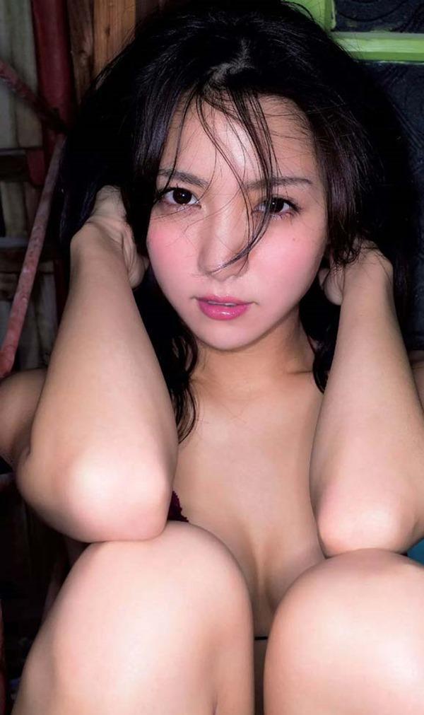 石川恋が温泉で全裸入浴画像8