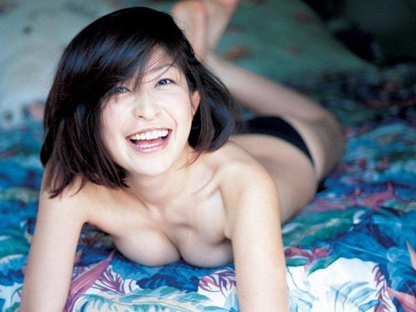 小野真弓の風呂上りヌード画像8