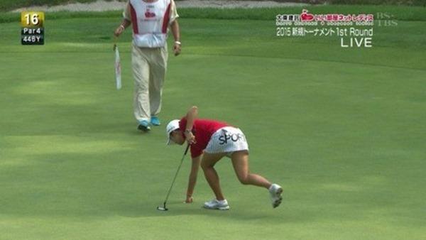 女子ゴルファー韓国イ・ボミ選手9