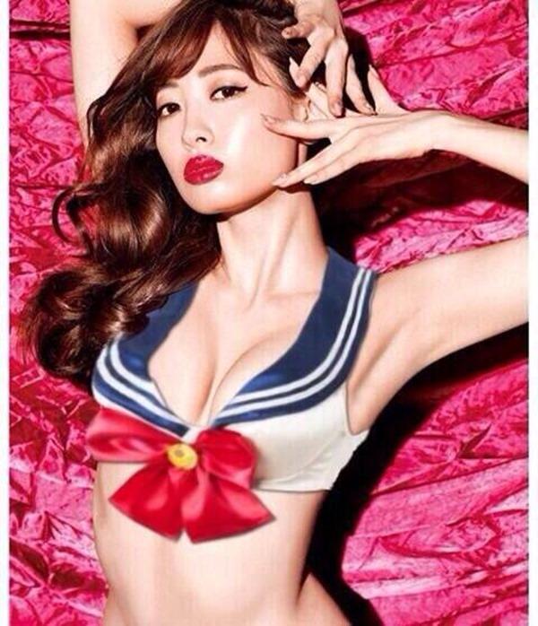 AKB48小嶋陽菜のセーラームーンのコスプレ画像15