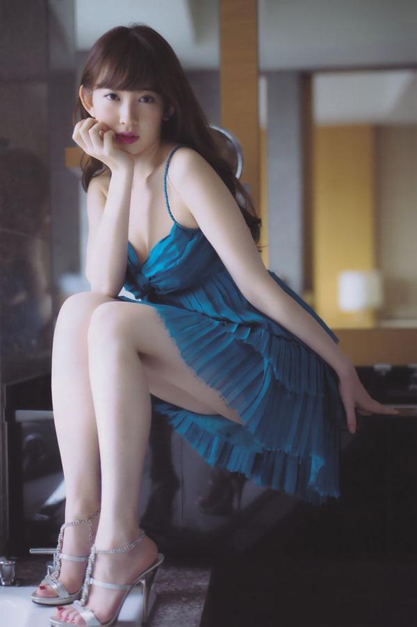 AKB48小嶋陽菜の興奮グラビア画像4