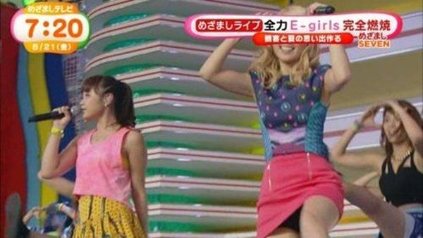 E-girls Ami(アミ)のパンチラ3