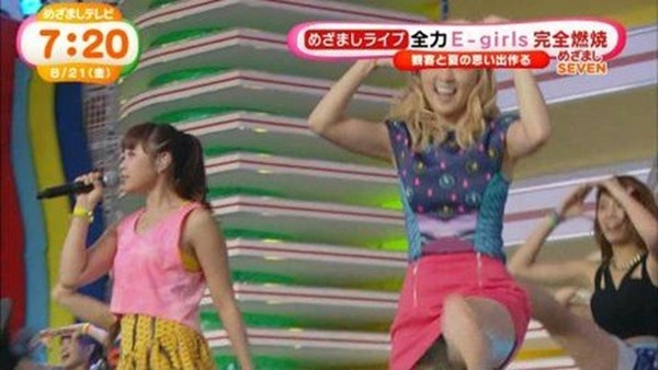 E-girls Ami(アミ)のパンチラ4
