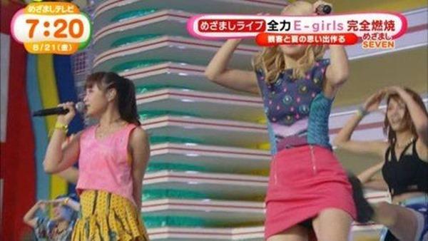 E-girls Ami(アミ)のパンチラ7